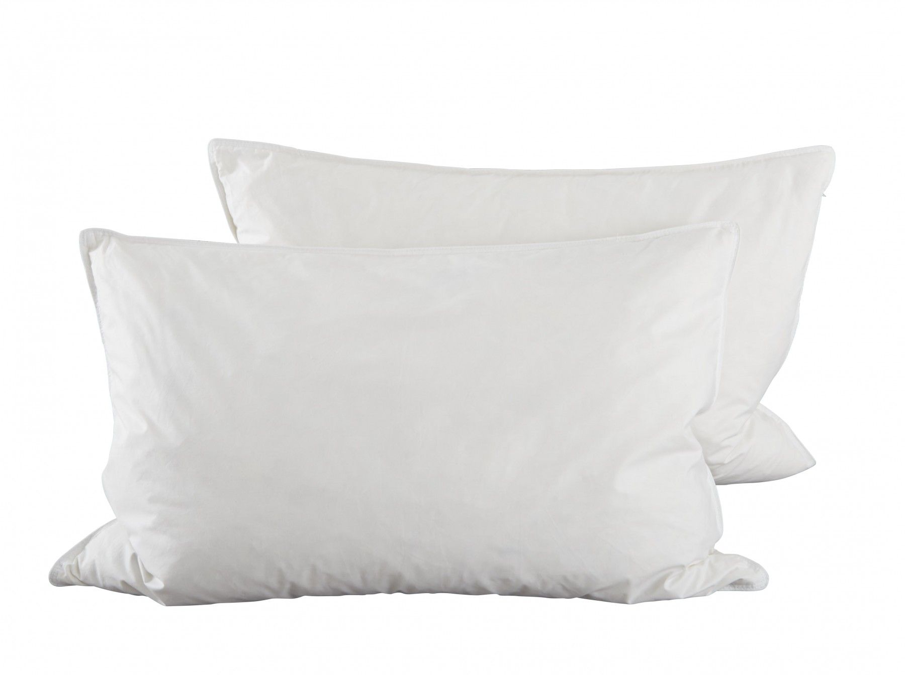 Duck feather down pillow pair indulgence range for Duck or goose feather pillows which is better
