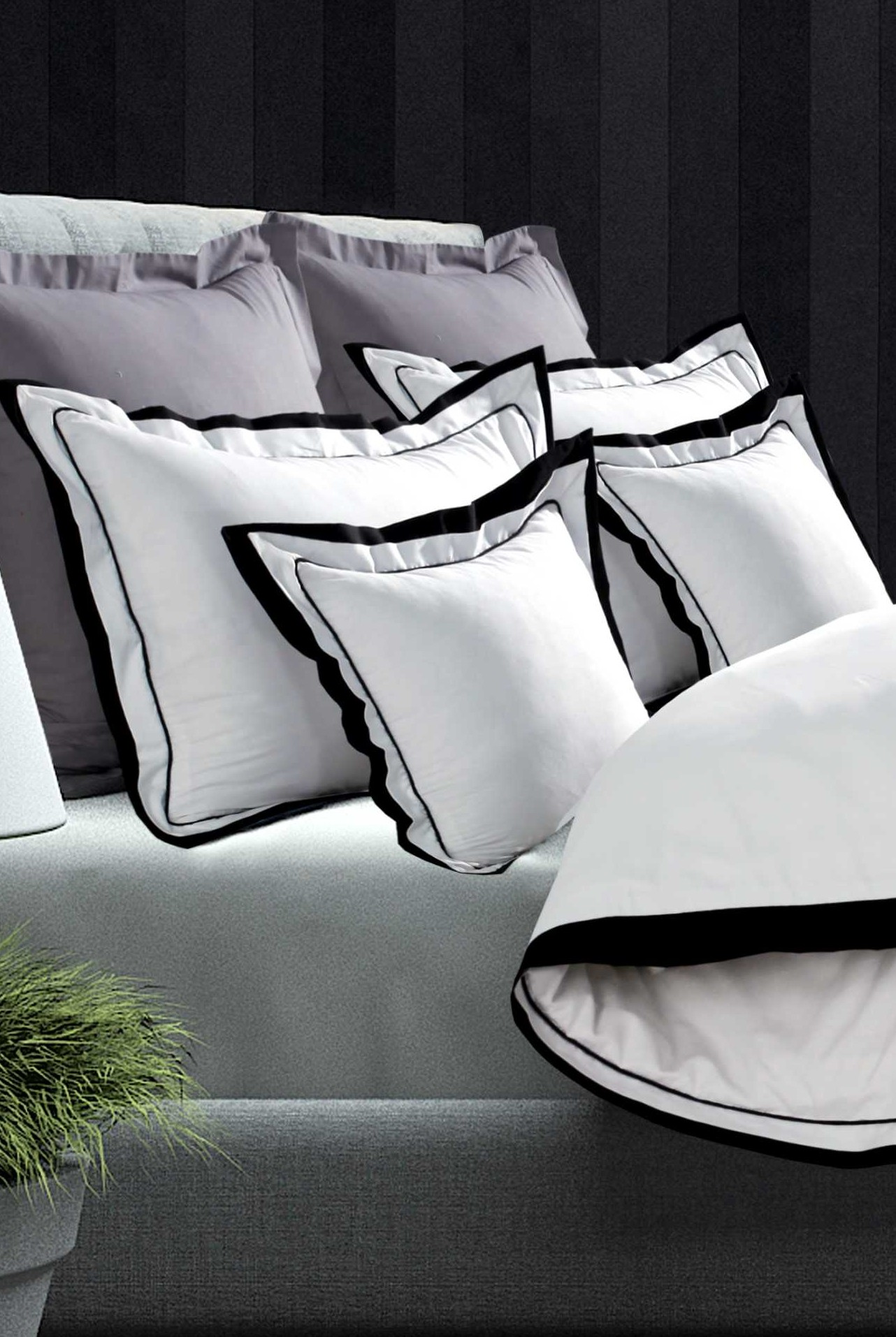 Oxford Double Edge Duvet Set