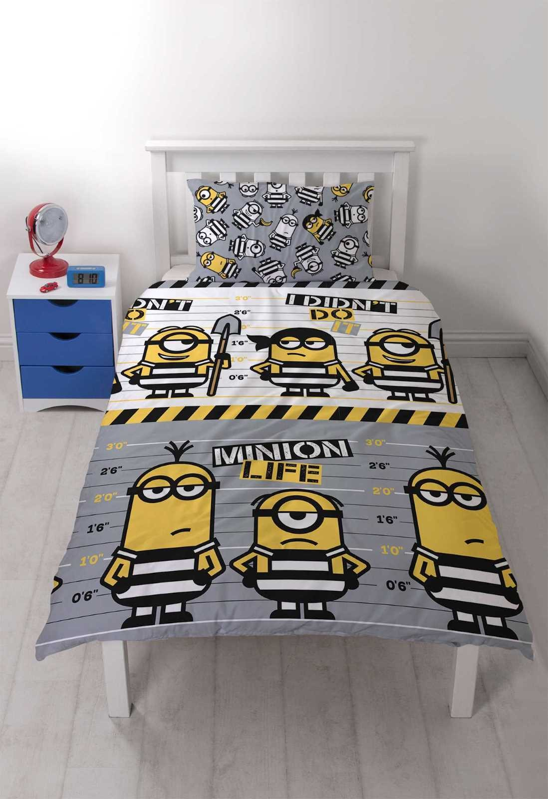 Despicable Me Single Duvet Set
