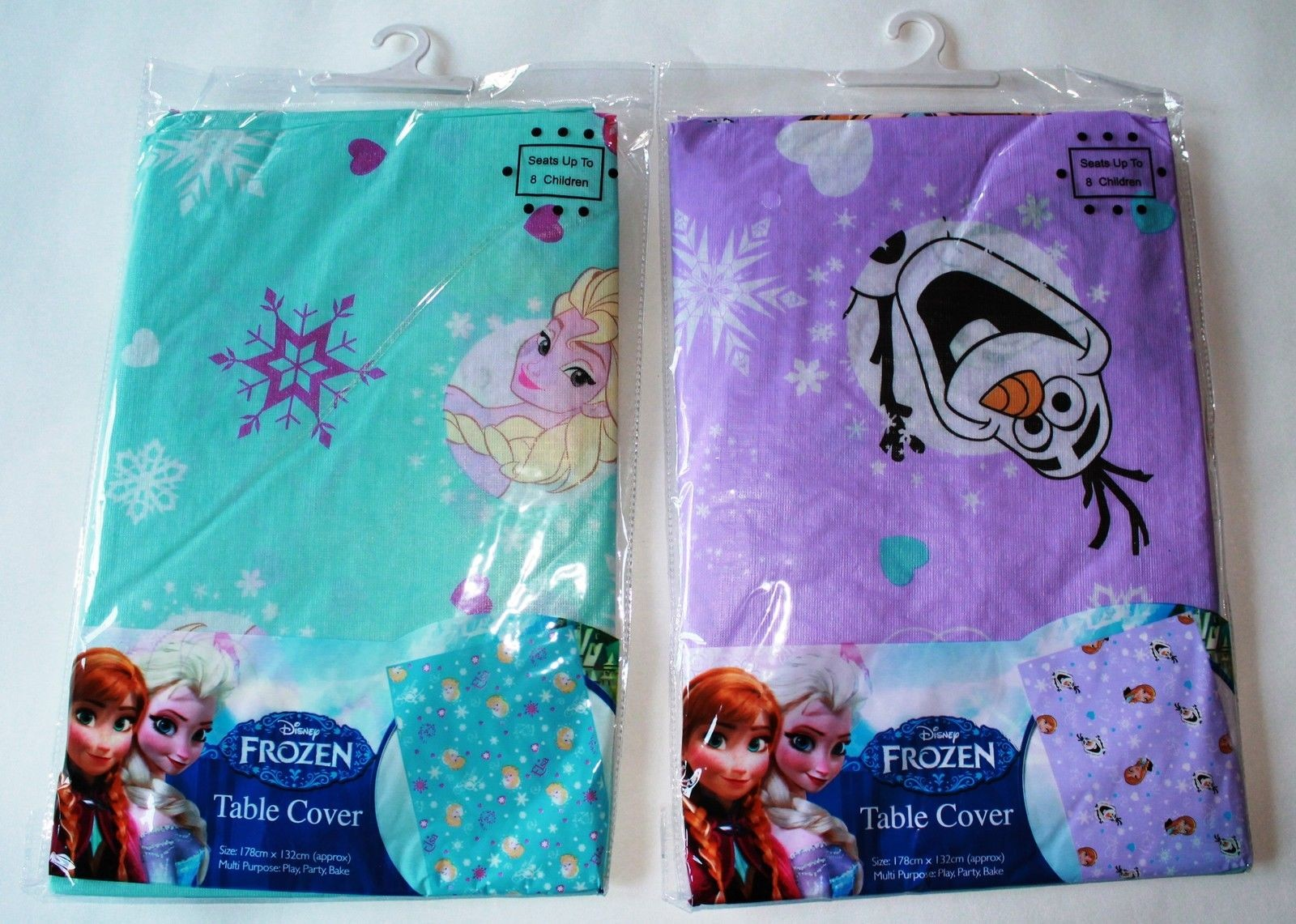 Disney Frozen Wipe Clean Tablecloth - Assorted Over 3 Designs