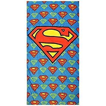 Superman Velour Beach Towel (60 x 120cm)