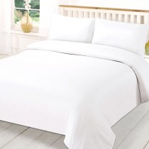200 TC Cotton Duvet Cover Sets White