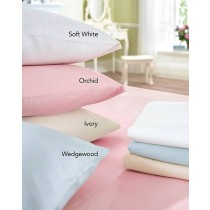300TC 100% Cotton House of Bath Sheets & Pillowcase Pairs (Size and Colour Options Available)