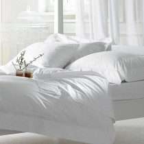 Bellissimo 400 TC Egyptian Cotton Fitted Sheets White