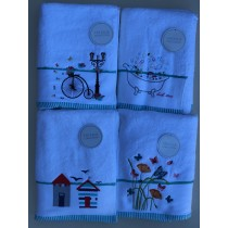 Embroidered Towel Range - NEW DESIGN AVAILABLE! (4 Designs Available)