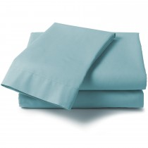 Percale Double Fitted Valance Sheet (17 Colours)