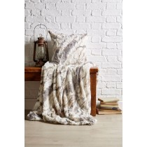 Faux Fur Marble Throw (Available in 2 Sizes)