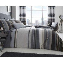 Ashcroft Stripe Duvet Set (Available in 2 Colours)