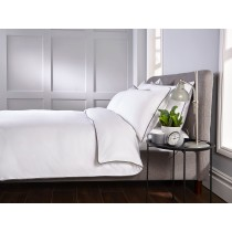 400 Thread Count Piped Edge Duvet Set (Size & Colour Options Available)