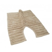 100% Cotton Ribbed Pedestal Mat (Available in 3 Colours)