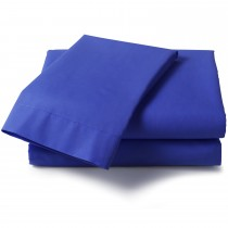Percale Double Flat Sheets (17 Colours)