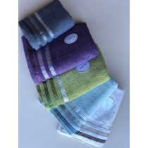 Bellissimo Brooklyn Border Towel (Available in 5 Colours) - Limited Stock!!