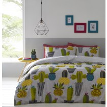 Cacti Single Duvet Set