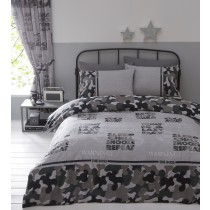Camouflage Single Duvet Set