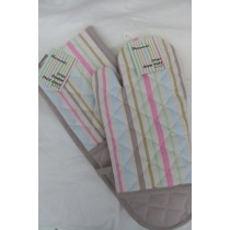 Candy Stripe Double Oven Glove