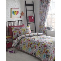 Dance Crew Double Duvet Set