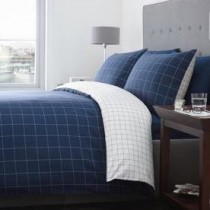 Ditton Check Duvet Set