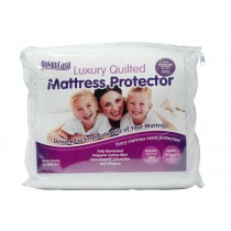Box of DreamEasy 110g Quilted Polycotton Mattress Protector