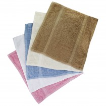 Pack of 12 Essentials Face Cloth (5 Colours Available)