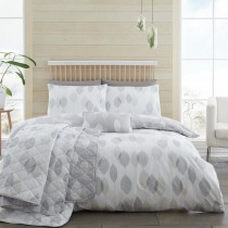 Etched Leaves 200TC Duvet Set (Available in 4 Colours - New Colour Out Now!)