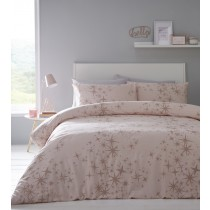 Glitter Stars Single Duvet Set