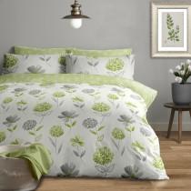 Caroline Brushed Cotton Duvet Set (Colour & Size Options Available)