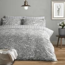 Larchwood Brushed Cotton Duvet Set (Colour & Size Options Available)
