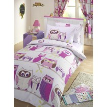 Hoot Single Duvet Set