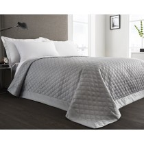 Manhattan Hotel Bedspread - 225 x240cm (Available in 3 Colours)