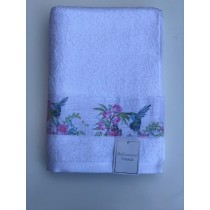 Bellissimo Trend Printed Hummingbird Towel