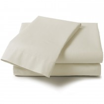 """Percale 4'0"""" Fitted Sheets (2 Colours)"""