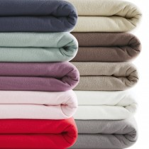 Box of Fitted Jersey Sheets - Assorted Colours