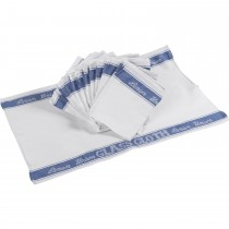 Pack of 12 Linen Union Glass Cloths