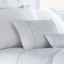 Shimmer Filled Boudoir Cushion (Available in 2 Colours)