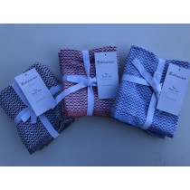 Luxe 2 Pack Tea Towel (Available in 3 Colours)