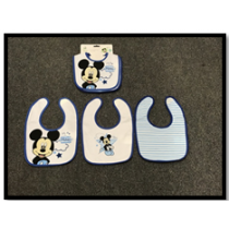 Mickey 3 Pack Bib Set