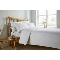 Micro Check 200TC Jacquard Duvet Set (2 Colours Available)