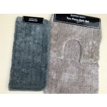 Microfibre 2 Piece Bath Sets & Microfibre Shower Mats