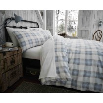 100% Brushed Cotton Montrose Duvet Set (Available in 2 Colours)