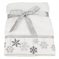 Pack of 6 Bellissimo Festive Embroidered Towel (Available in 8 Designs) - NEW Design Available!