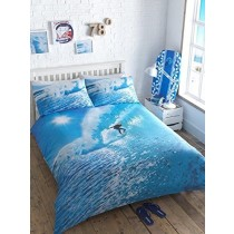 Ocean Surfer King Duvet Set