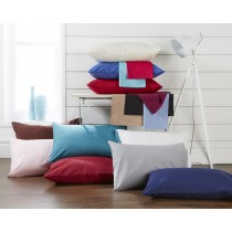 Percale V Shape Pillowcase (17 Colours)