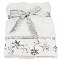Pack of 6 Bellissimo Festive Embroidered Towel (Available in 7 Designs) - 2 NEW DESIGNS!!