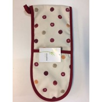 Country Spots Double Oven Glove