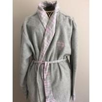 Polar Fleece Check Robe (Available in 4 Sizes)