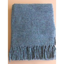 Portuguese Wool Blend Throw Vancouver Tweed (Available in 4 Colours)