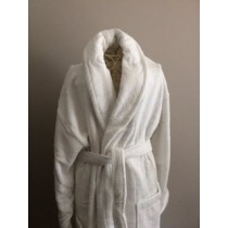 Terry Piped Heavyweight Robe (Available in 2 Sizes)
