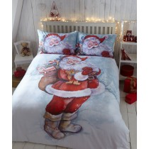 Santa Polycotton Duvet Set (Available in 3 Sizes)