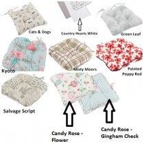 Bale of 24 Chunky Seat Pads - Assorted Designs
