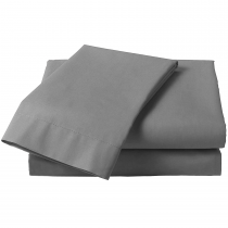 Percale Double Fitted Extra Deep Sheets (3 Colours Available)